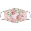 Pink Floral Face Mask Washable Reusable