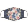 Royal Flowers Face Mask Washable Reusable