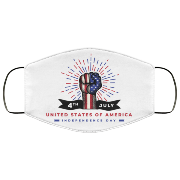 American Independence Day Face Mask Washable Reusable