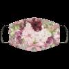 Vintage Flowers Face Mask Washable Reusable