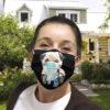 Pug Dog Wash Your Hand Quarantined 2020 face mask 1