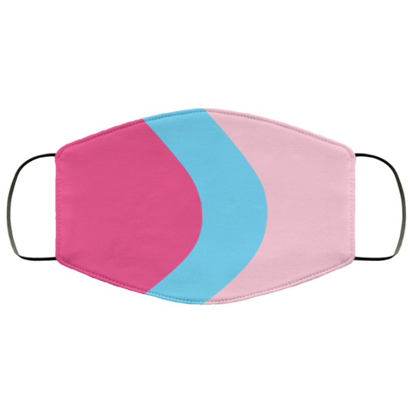 Bubblegum Wall Washable Reusable Face Mask Adult