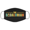 The Dadalorian Washable Reusable Face Mask Adult