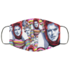 Ziggy Bowie Washable Reusable Face Mask Adult