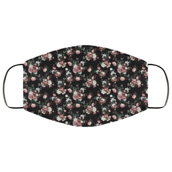 Midnight Floral Washable Reusable Face Mask Adult