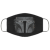 Mandalorian this is the way Washable Reusable Face Mask Adult
