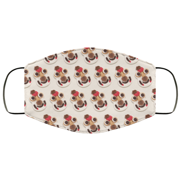 Cookie Puss Washable Reusable Face Mask Adult