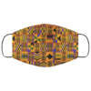 Kente Print Washable Reusable Face Mask Adult