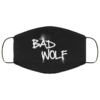 Doctor Who Bad Wolf Washable Reusable Face Mask Adult
