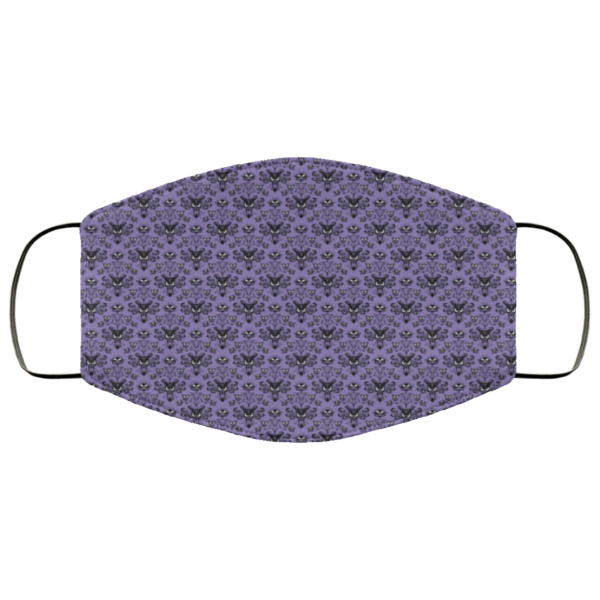 Haunted mansion Washable Reusable Face Mask Adult