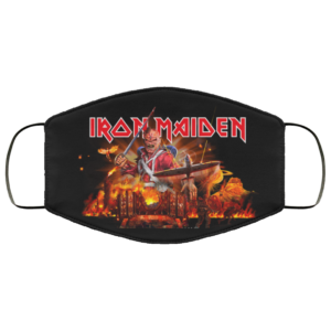 Iron Maiden Washable Reusable Face Mask Adult