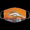 Denver Broncos Washable Reusable Face Mask Adult