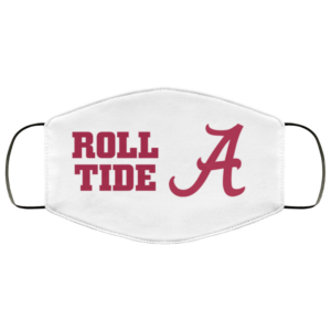 Nick Saban Roll Tide Washable Reusable Face Mask Adult