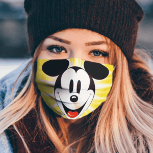 Mickey Mouse Cartoon Film clother Face Mask Washable Reusable