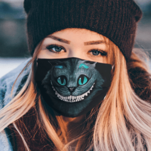 Sale For Cheshire Cat Face Mask Washable Reusable