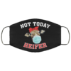 Not Today Heifer Custom Funny Heifer Face Mask