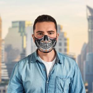 Sugar Skull Calavera Men Mexican Bandanas Face Mask