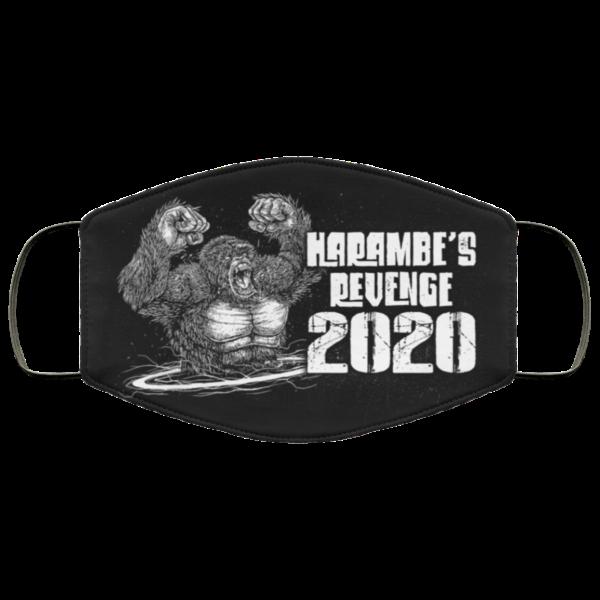 Harambes Revenge 2020 Face Mask