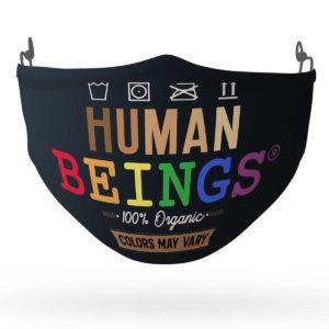 Human Beings 100 Organic Colors May Vary LGBT Face Mask