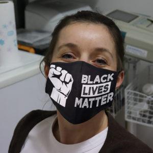 Black Lives Matter Blm Anti Racism Face Mask Cover