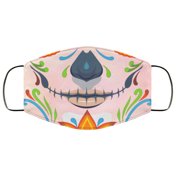 Sugar Skull Calavera Face Mask