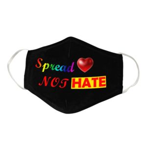 Spread Love Cloth Face Mask Reusable