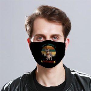Chihuahua Patronus Cloth Face Mask Reusable