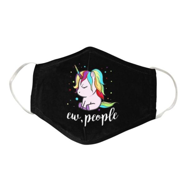 Unicorn Cloth Face Mask Reusable