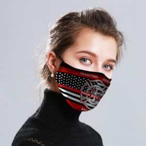 Uploaded ToFirefighter Cloth Face Mask Reusable