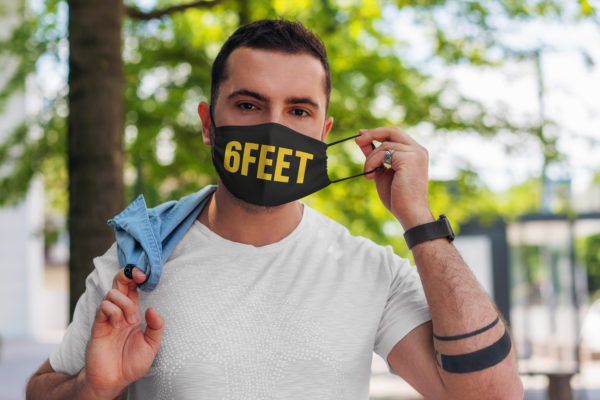 6 Feet Cloth Face Mask
