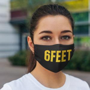6 Feet Face Mask