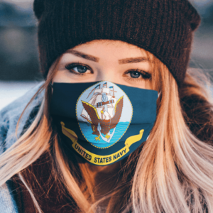 America Flags Navy Sea Seagulls Anchor Flag United States Navy Day Veterans Flag Face Mask 3