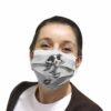 Border Collies Scratch Face Mask