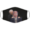 Creepy Uncle Joe Sniffing Crazy Uncle Joe Face Mask