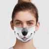 Fursona Wolf Cloth Face Mask