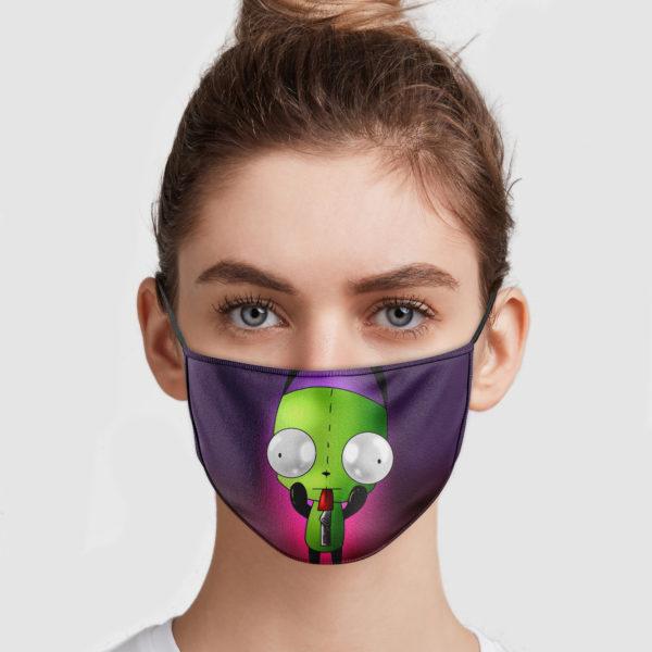 Gir Invader Zim Cloth Face Mask