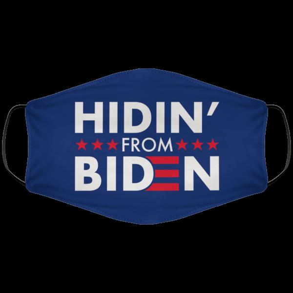 Hidin From Biden Face Mask