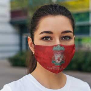 Liverpool FC Youll Never Walk Alone Face Mask 1