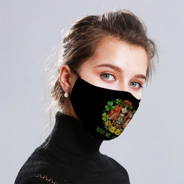 Hippie Girl Cloth Face Mask Reusable