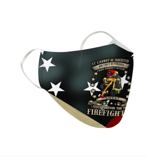 Firefighter New Cloth Face Mask Reusable