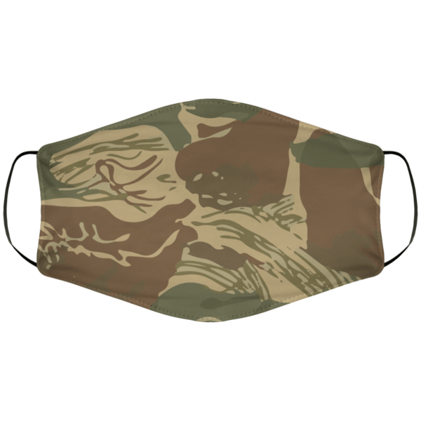 Rhodesian Brushstroke Face Mask