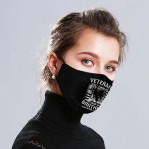 Veteran Dont Thank Me Cloth Face Mask Reusable 1