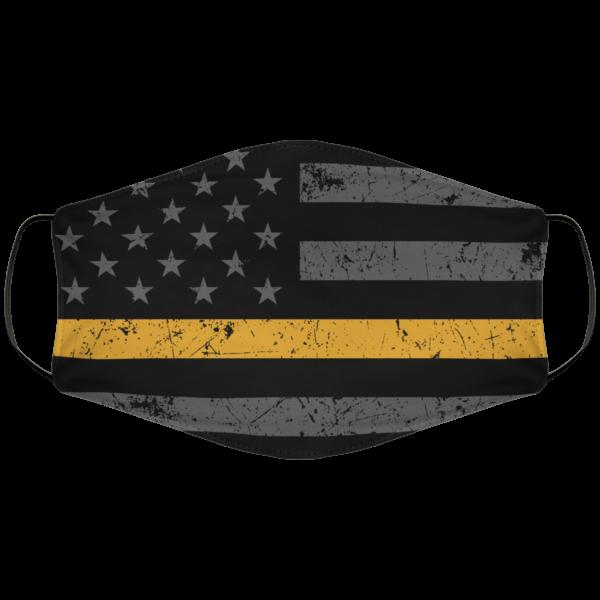 Goldline Flag Face Mask