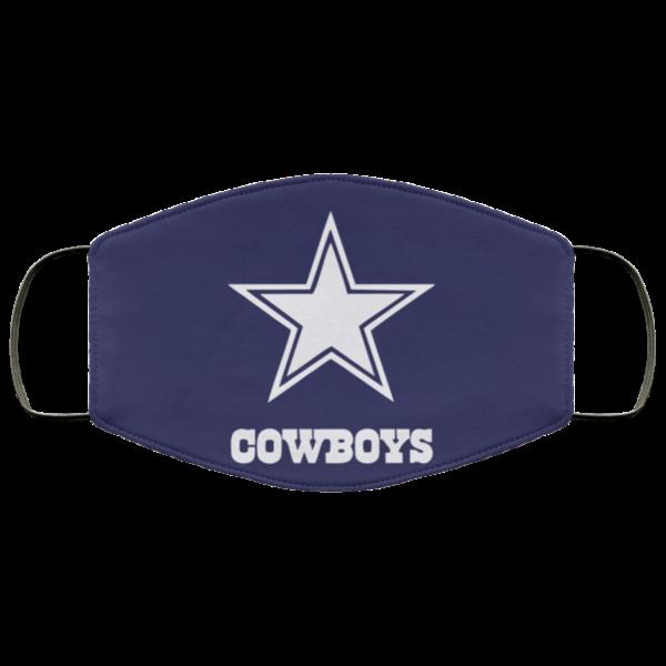 Dallas Cowboys Cloth Face Mask