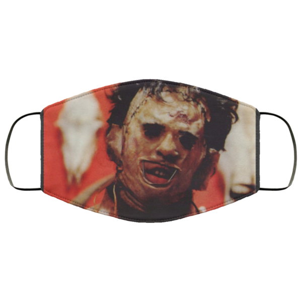 Leatherface Cloth Face Mask
