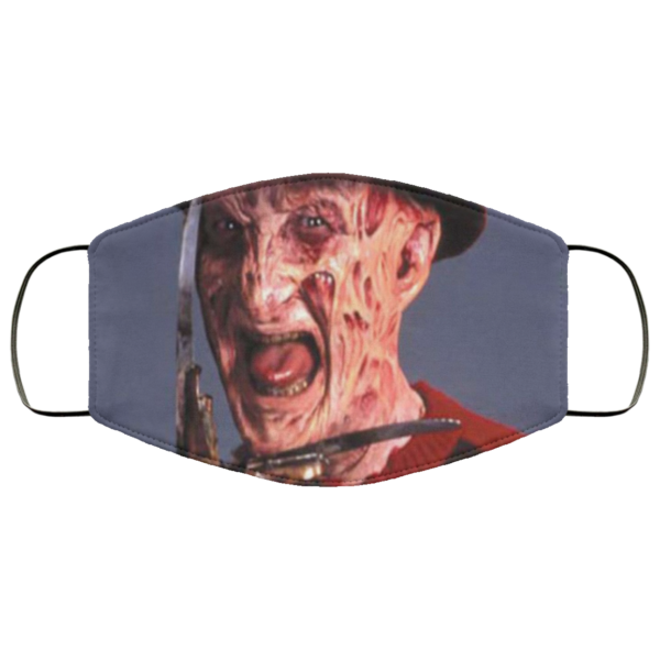 Freddy Krueger Cloth Face Mask
