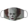 Pennywise the Dancing Clown Cloth Face Mask