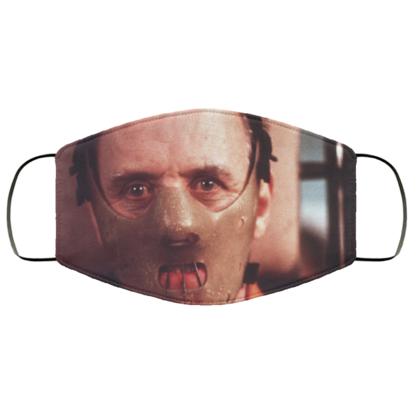 Hannibal Lecter Cloth Face Mask