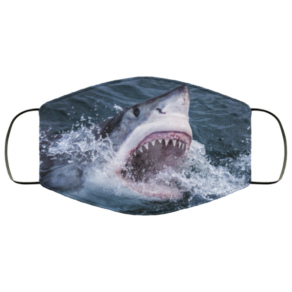 Jaws Cloth Face Mask