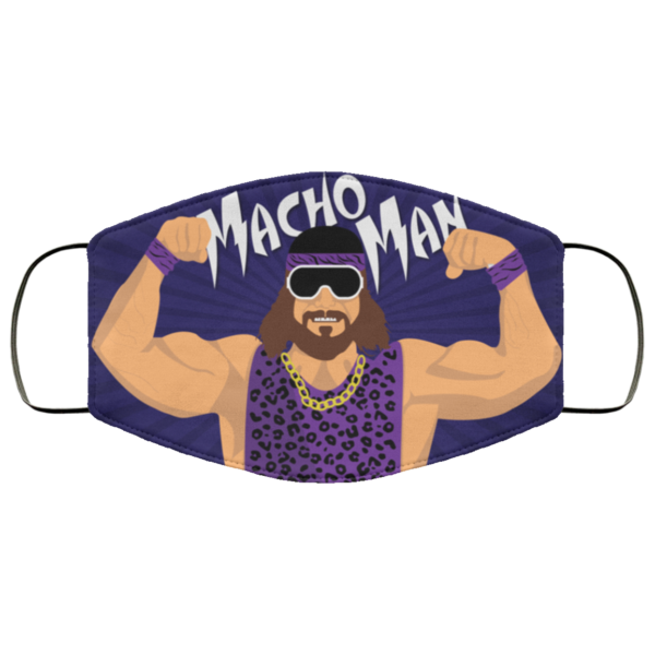 Macho Man Randy Savage Cloth Face Mask